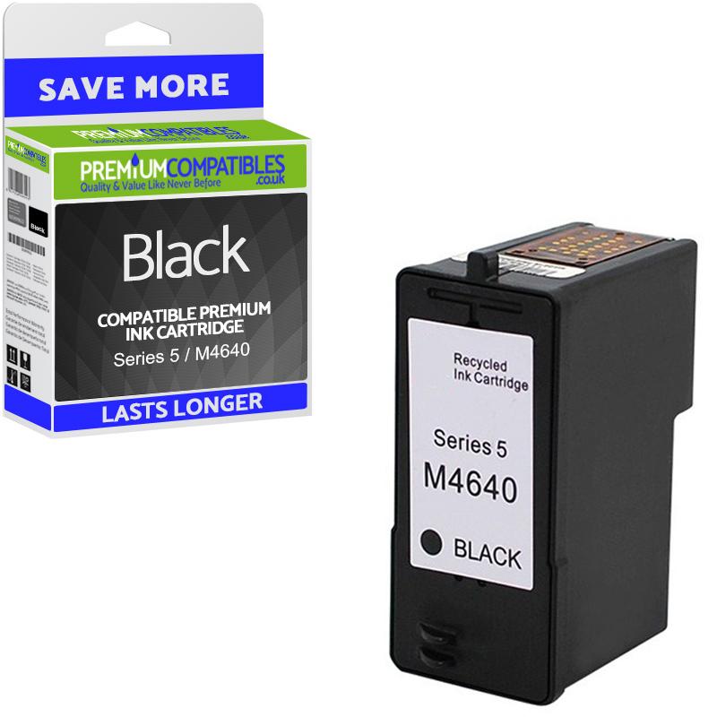 Premium Remanufactured Dell Series 5 / M4640 Black High Capacity Ink Cartridge (592-10092)