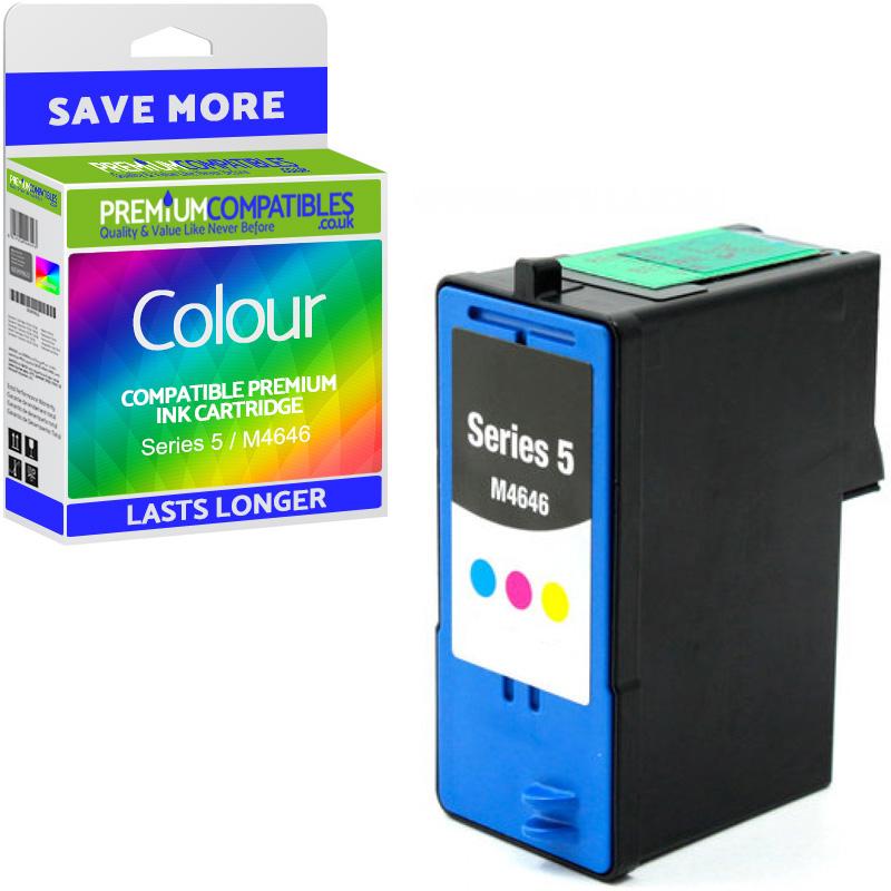 Premium Remanufactured Dell Series 5 / M4646 Colour High Capacity Ink Cartridge (592-10091)