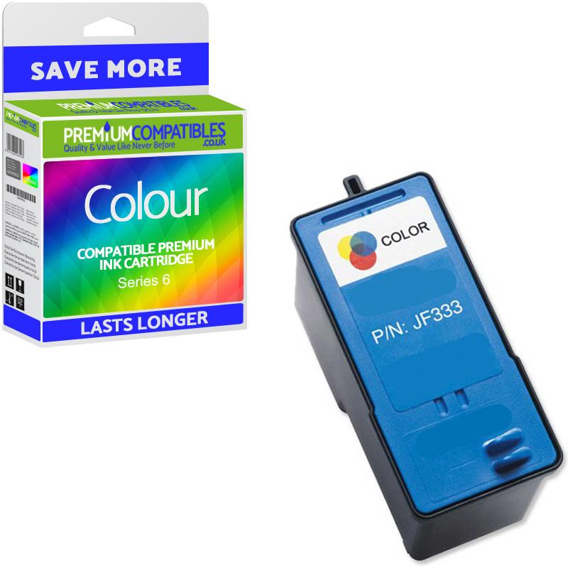 Premium Remanufactured Dell Series 6 Colour Ink Cartridge (JF333)