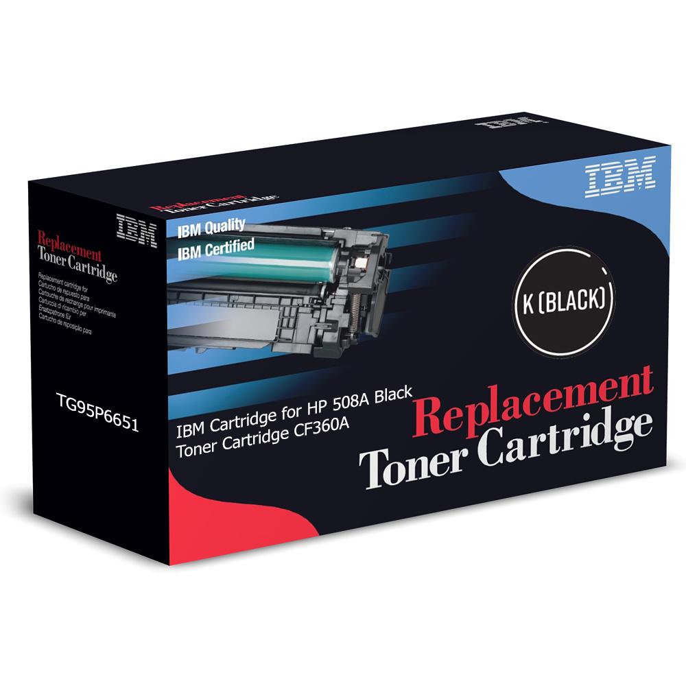 Made in USA. HP 508X Black High Yield OEM Alternative Toner Cartridge CF360X