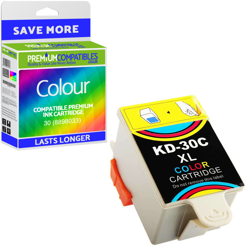 Premium Compatible Kodak 30 Colour Ink Cartridge (8898033)