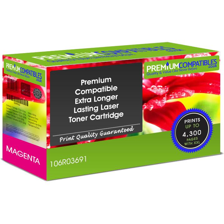 Premium Compatible Xerox 106R03691 Magenta Extra Longer Lasting Toner Cartridge (106R03691)