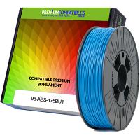 Premium Compatible ABS 1.75mm Blue 0.5kg 3D Filament (98-ABS-175BU1)
