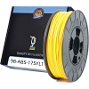 Premium Compatible ABS 1.75mm Yellow 1kg 3D Filament (ABS175YL1)