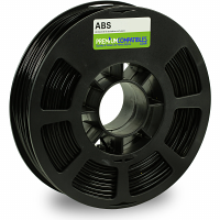 Premium Compatible ABS 2.85mm Black 0.5kg 3D Filament (98-ABS-285BK1)
