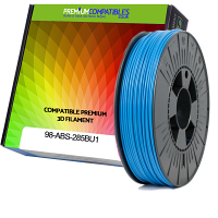 Premium Compatible ABS 2.85mm Sky Blue 0.5kg 3D Filament (98-ABS-285BU1)