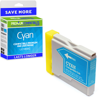 Premium Compatible Brother LC1000C Cyan Ink Cartridge (LC1000C)