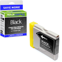 Premium Compatible Brother LC1000HYBK Black High Capacity Ink Cartridge (LC1000HYBK)