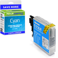Premium Compatible Brother LC1100 Cyan Ink Cartridge (LC1100C)