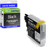 Premium Compatible Brother LC1100HY Black High Capacity Ink Cartridge (LC1100HYBK)