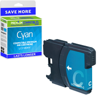 Premium Compatible Brother LC1100HY Cyan High Capacity Ink Cartridge (LC1100HYC)