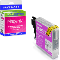 Premium Compatible Brother LC1100HY Magenta High Capacity Ink Cartridge (LC1100HYM)