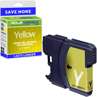 Premium Compatible Brother LC1100HY Yellow High Capacity Ink Cartridge (LC1100HYY)