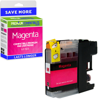 Premium Compatible Brother LC123 Magenta Ink Cartridge (LC123M)