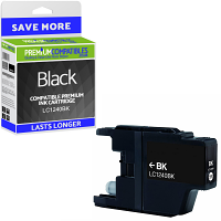 Premium Compatible Brother LC1240BK Black High Capacity Ink Cartridge (LC1240BK)