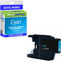 Premium Compatible Brother LC1240C Cyan High Capacity Ink Cartridge (LC1240C)