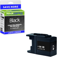 Premium Compatible Brother LC1280XLBK Black Super High Capacity Ink Cartridge (LC1280XLBK)