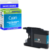 Premium Compatible Brother LC1280XLC Cyan Super High Capacity Ink Cartridge (LC1280XLC)