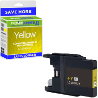Premium Compatible Brother LC1280XLY Yellow Super High Capacity Ink Cartridge (LC1280XLY)