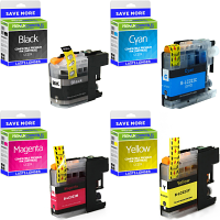Premium Compatible Brother LC223 CMYK Multipack Ink Cartridges (LC223VALBP)