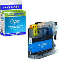 Premium Compatible Brother LC223 Cyan Ink Cartridge (LC223C)