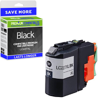 Premium Compatible Brother LC227XL Black High Capacity Ink Cartridge (LC227XLBK)