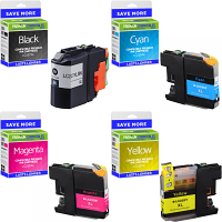 Premium Compatible Brother LC227XL / LC225XL CMYK Multipack High Capacity Ink Cartridges (LC227XLVALBP)