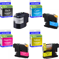 Premium Compatible Brother LC229XL / LC225XL CMYK Multipack High Capacity Ink Cartridges (LC229XLVALBP)