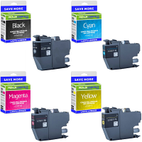 Premium Compatible Brother LC3211 CMYK Multipack Ink Cartridges (LC3211BK /LC3211C /LC3211M /LC3211Y)