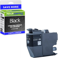 Premium Compatible Brother LC3211BK Black Ink Cartridge (LC3211BK)