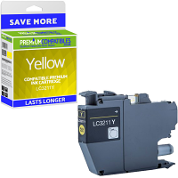 Premium Compatible Brother LC3211Y Yellow Ink Cartridge (LC3211Y)