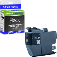 Premium Compatible Brother LC3213BK Black High Capacity Ink Cartridge (LC3213BK)