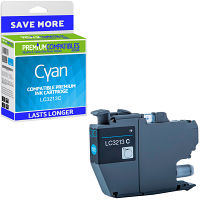 Premium Compatible Brother LC3213C Cyan High Capacity Ink Cartridge (LC3213C)