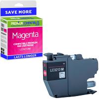 Premium Compatible Brother LC3213M Magenta High Capacity Ink Cartridge (LC3213M)