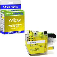 Premium Compatible Brother LC3213Y Yellow High Capacity Ink Cartridge (LC3213Y)