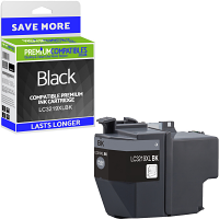 Premium Compatible Brother LC3219XLBK Black High Capacity Ink Cartridge (LC3219XLBK)