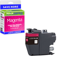Premium Compatible Brother LC3219XLM Magenta High Capacity Ink Cartridge (LC3219XLM)