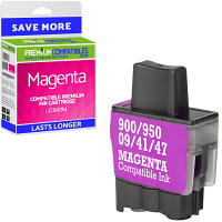 Premium Compatible Brother LC900M Magenta Ink Cartridge (LC900M)