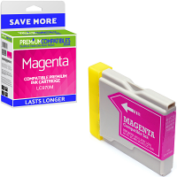 Premium Compatible Brother LC970M Magenta Ink Cartridge (LC970M)