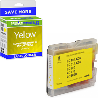 Premium Compatible Brother LC970Y Yellow Ink Cartridge (LC970Y)
