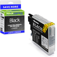 Premium Compatible Brother LC980BK Black Ink Cartridge (LC980BK)