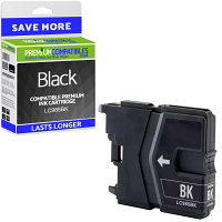 Premium Compatible Brother LC985BK Black Ink Cartridge (LC985BK)
