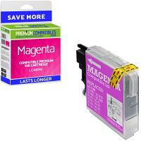 Premium Compatible Brother LC985M Magenta Ink Cartridge (LC985M)