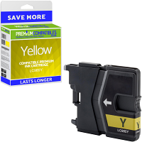 Premium Compatible Brother LC985Y Yellow Ink Cartridge (LC985Y)
