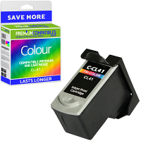Premium Remanufactured Canon CL-41 Colour Ink Cartridge (0617B001)
