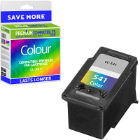 Premium Remanufactured Canon CL-541 Colour Ink Cartridge (5227B005)