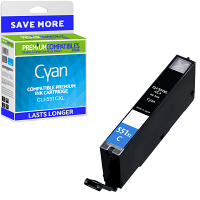 Premium Compatible Canon CLI-551CXL Cyan High Capacity Ink Cartridge (6444B001)