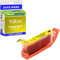Premium Compatible Canon CLI-551YXL Yellow High Capacity Ink Cartridge (6446B001)