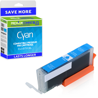 Premium Compatible Canon CLI-571CXL Cyan High Capacity Ink Cartridge (0332C001)