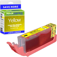 Premium Compatible Canon CLI-571YXL Yellow High Capacity Ink Cartridge (0334C001)